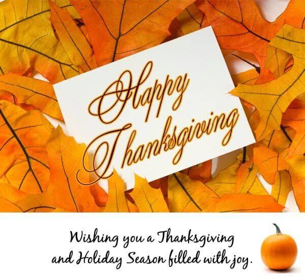 Happy Thanksgiving 2019 Greetings