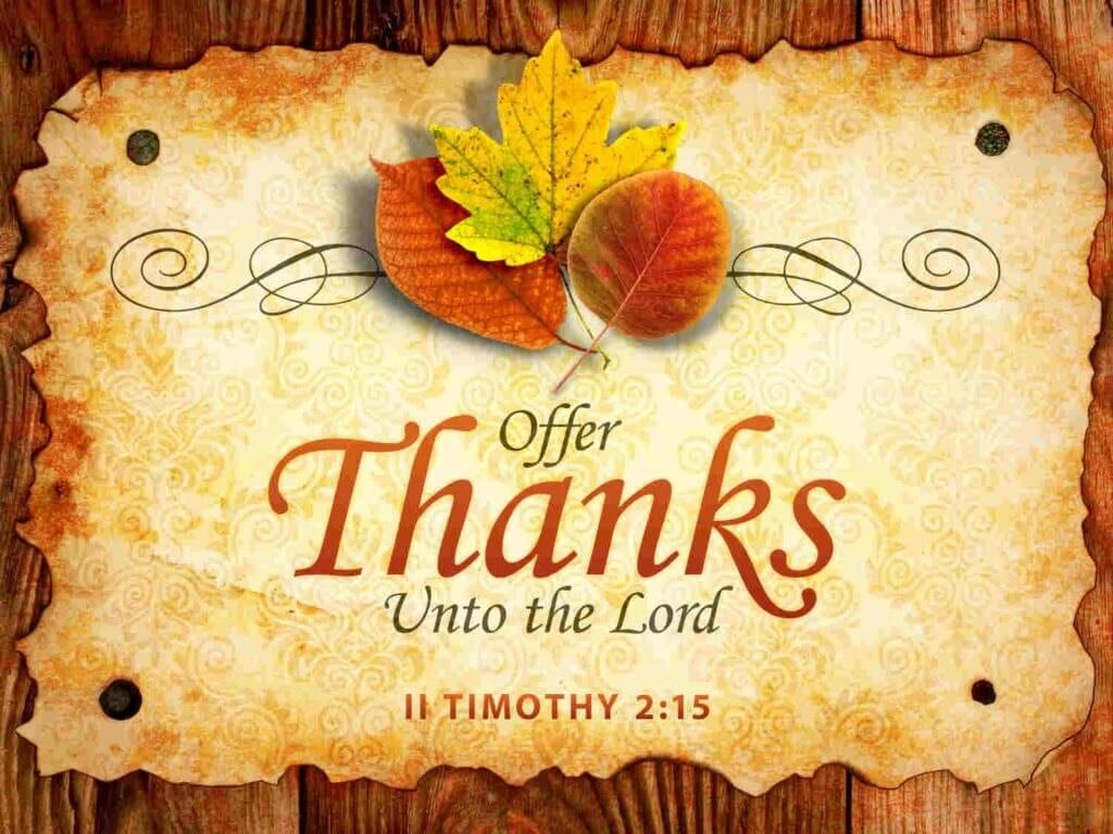 Religious Thanksgiving Images