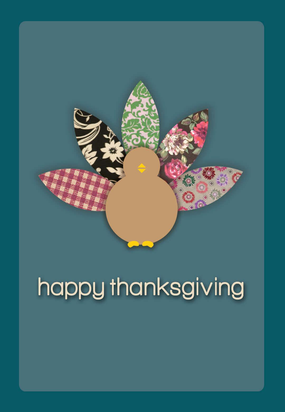 Thanksgiving 2019 Greeting Cards