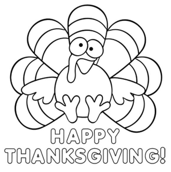 Thanksgiving Coloring Pages Turkey Happy Thanksgiving 2018 Images