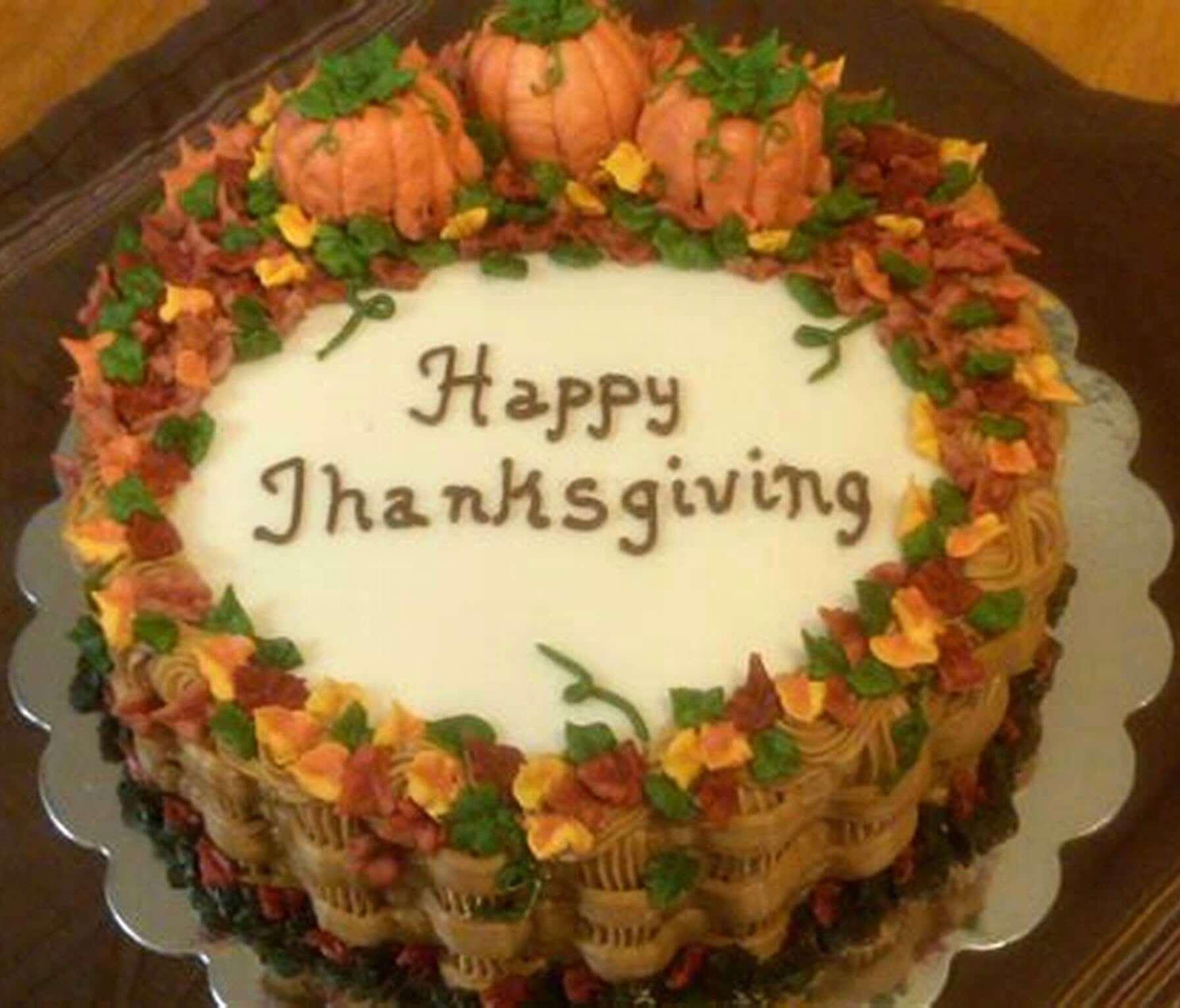 Thanksgiving Cake Images
