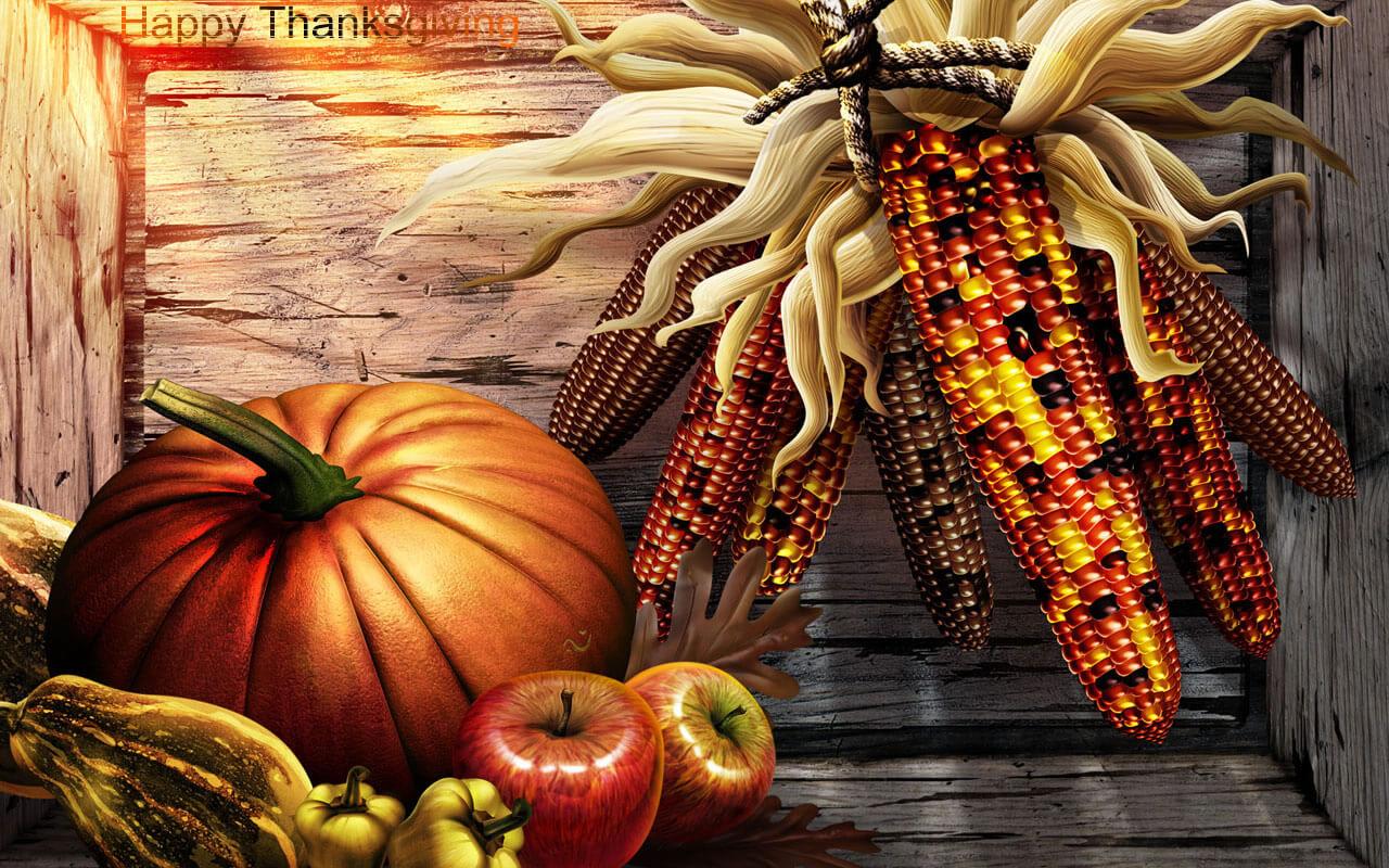 Thanksgiving Screen Backgrounds