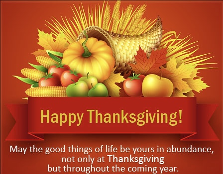 Thanksgiving Wishes 2019