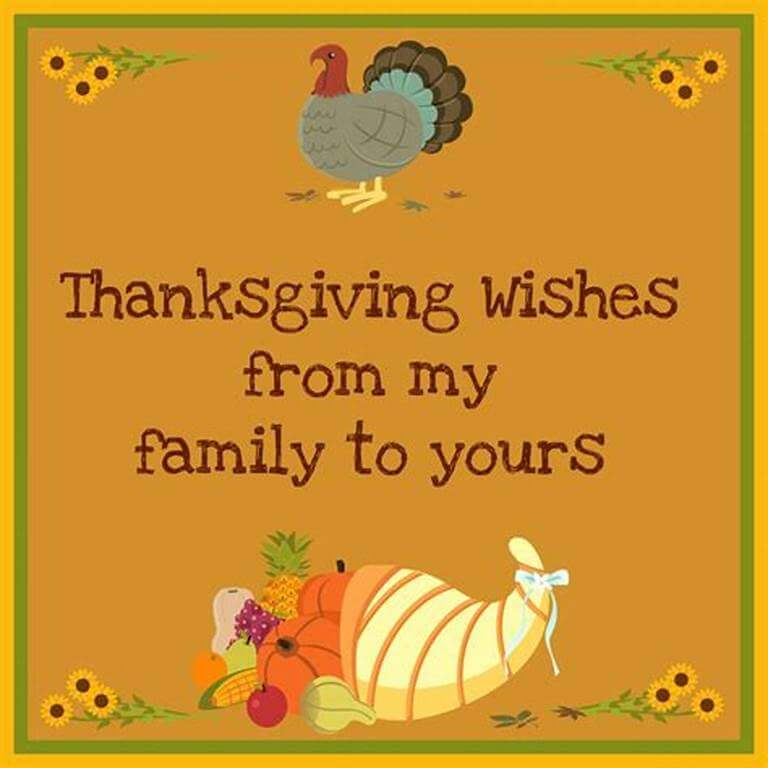 Thanksgiving Wishes Images