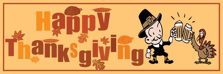 Funny Thanksgiving Banner