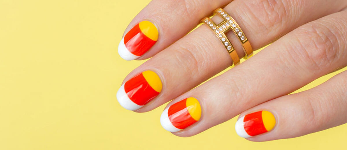 Thanksgiving Nails Images For FB
