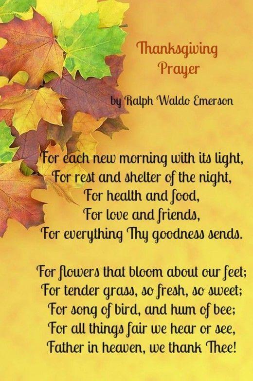 Thanksgiving Prayers For Friends