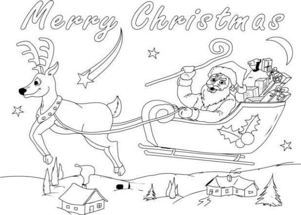 Christmas Coloring Images