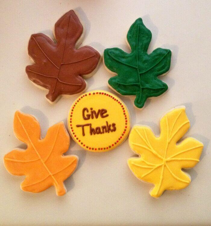Thanksgiving Thank You Cookies For Parents